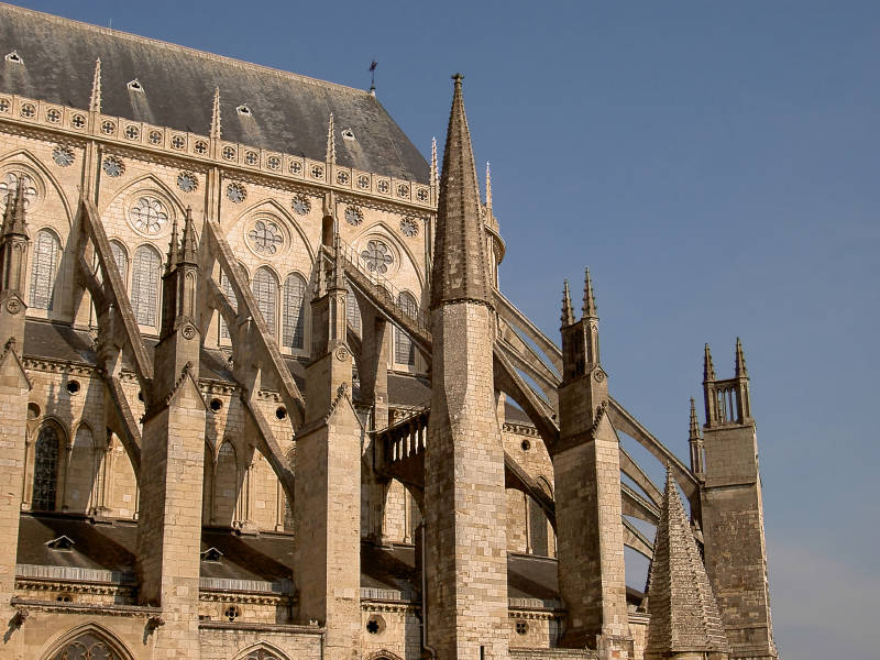 Go Back Gallery For Gothic Church Flying Buttress
