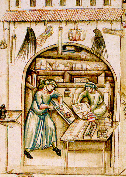 What Did the Medieval Craftsmen Make?