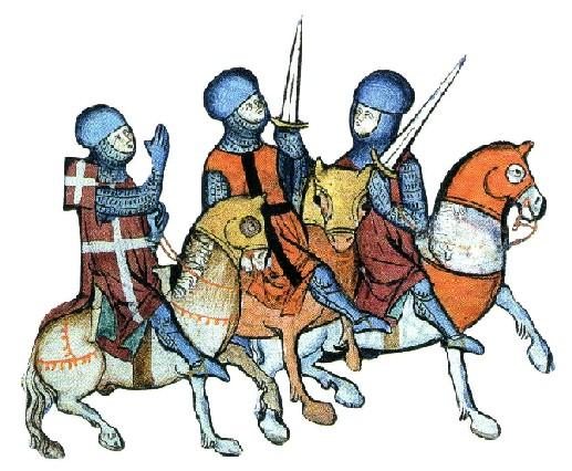 image of crusaders from http://merryfarmer.net/2012/05/28/medieval-monday-crusaders/