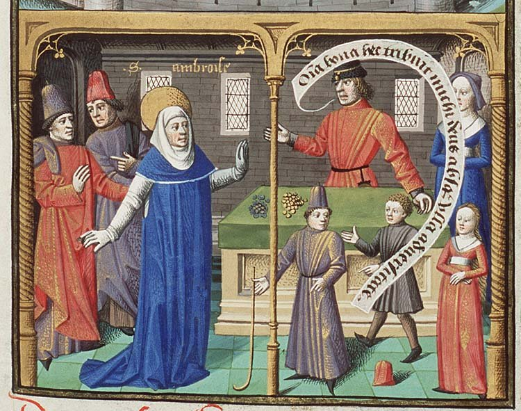 What was dating like in medieval times