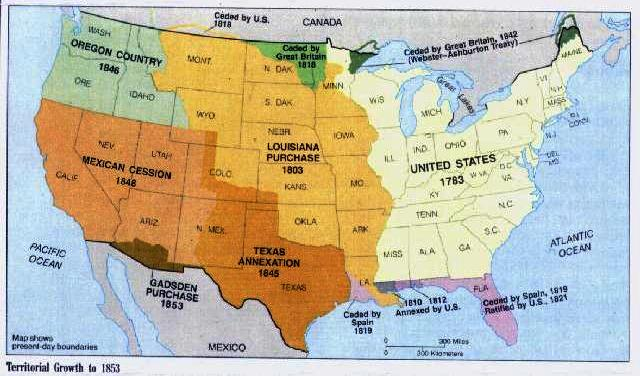 Westward Expansion Map For Kids Western wednesday go west,
