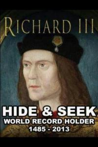 Richard III Hide n Seek