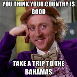 bahamas meme