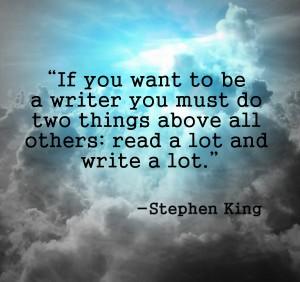 Stephen king reading to write essay