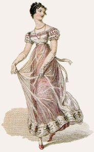 This lovely dress would have been literally tailor-made. Wikicommons