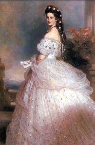 Franz Winterhalter - Empress Elizabeth of Austria - Wikicommons
