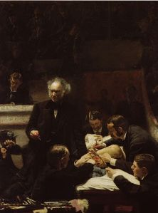 The Gross Clinic, by Thomas Eakins - 1875