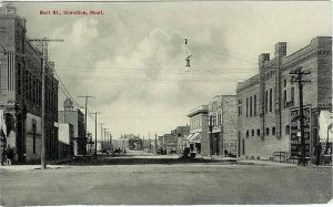 Glendive, Montana in 1913.  Compare this to the photo from 1887.  That's the difference between today and 1987.  That's hardly any time at all, and look at the difference! courtesy of Wikicommons