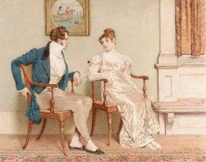 The Courtship, by Charles Green
