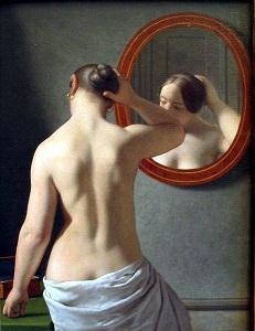 463px-C_W_Eckersberg_1841_-_Kvinde_foran_et_spejl