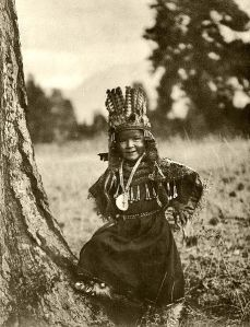 Flathead child, circa 1911