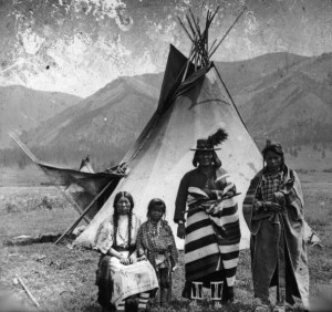 Flathead family (the Native Americans that play a part in In Your Arms are Flathead, although Lily is not)