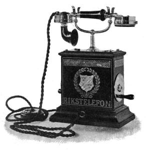 Actual telephone from 1896