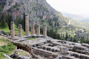 The Temple of Apollo in Delphi © Georgios Alexandris | Dreamstime.com