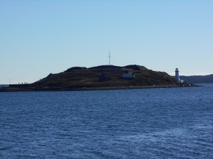 Georges Island, which was once a prison and is filled with underground tunnels, apparently