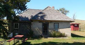 Dowse sod house, Comstock, NE - built in 1900