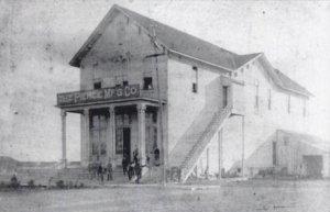 Marquette Lumber company store, circa 1891 courtesy of Wikicommons