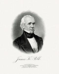 James K. Polk - I had to do a project about him in 6th grade and I've never forgotten him since. Courtesy of Wikkicommons