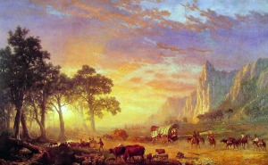The Oregon Trail, by Albert Bierstadt