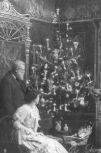 Edward H. Johnson's electric Christmas tree lights